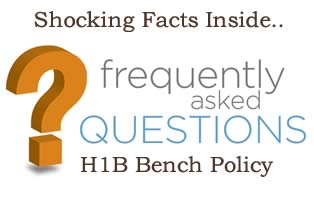 H1B Bench Policy FAQs