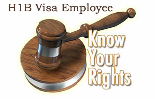 Know your rights as H1B employee