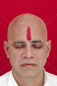 Why do Indian men and women wear marks (tilak, pottu and the